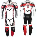 YAMAHA-R1-1-OR-2 PC Motorbike Leather Suit Men Racing Leather Suit