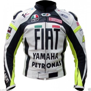 YAMAHA FLAT Racing Jacket Motorcycle Leather Jacket Motorbike Leather Jackets