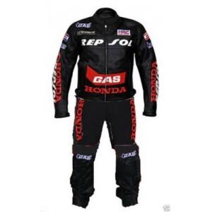 Honda Repsol Leather Suit Motorbike Leather Suit Men Racing Leather Suit