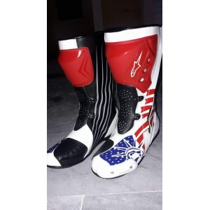 Alpinestars LEATHER MOTORBIKE RACING SHOES,BOOTS/MOTORBIKE LEATHER SHOES