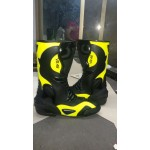 VR46 LEATHER MOTORBIKE RACING SHOES,BOOTS/MOTORBIKE LEATHER SHOES