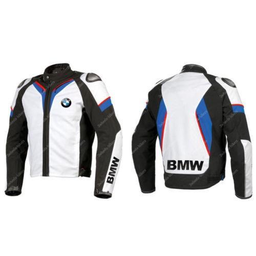 BMW New Motorbike Racing Leather Jacket Racing Biker Cowhide Leather Jacket