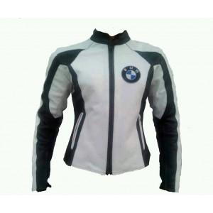 BMW Women Motorbike Leather Jacket Racing Ladies Motorcycle Leather Jacket