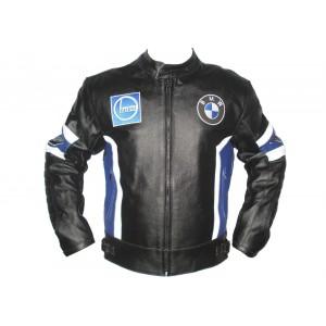 Bmw Motorbike Leather Jacket Motorcycle Jacket Racing Biker XS-4XL