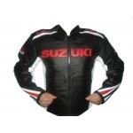 Suzuki Motorcycle Leather Jacket Racing Motorbike MotoGp Sports Leather Jacket