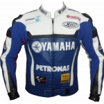 RTX Motorcycle YAMAHA Replica Cowhide leather Jacket Motorbike Rider Protection