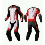 MEN 2017 STYLE MOTORBIKE LEATHER SUIT- CE APPROVED FULL PROTECTION