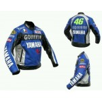 YAMAHA GO 46 MOTORBIKE COWHIDE LEATHER JACKET CE PROVED FULL PROTECTION.