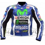VALENTINO ROSSI VR46 MOTO GP 2016 MOTORBIKE RACING LEATHER JACKET