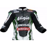 Tom skyes kawasaki  MOTORBIKE MOTOGP MOTORCYCLE RACING LEATHER JACKET