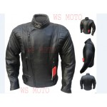 CE ARMOURED Leather Motorcycle Motorbike Racing Jacket MOTORBIKE,MOTORCYCLE/MOTGP RACING LEATHER JACKET