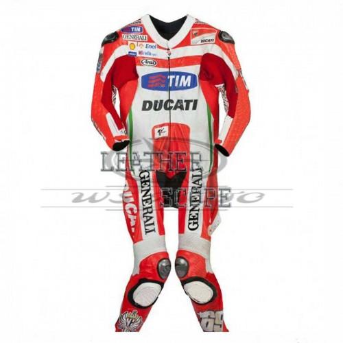 Andrea Iannone Ducati corse motorbike, motorcycle motogp racing leather suit