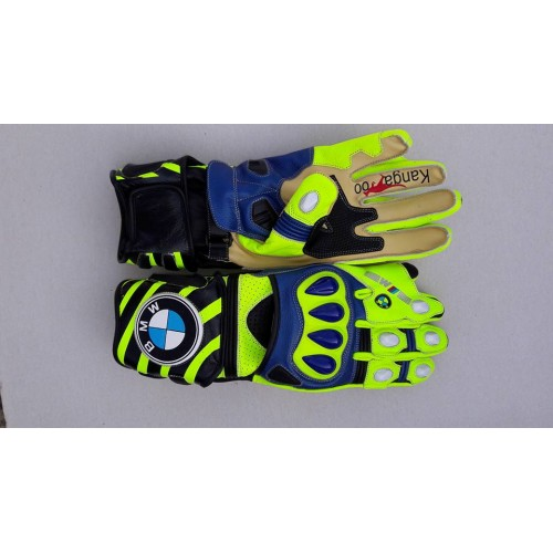 BMW MOTOGP/MOTORBIKE/MOTORCYCLE  LEATHER RACING GLOVES