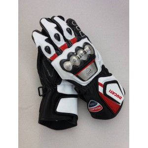 DUCATI CORSE  MOTOGP/MOTORBIKE/MOTORCYCLE  LEATHER RACING GLOVES