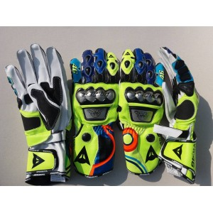 VALENTINO ROSSI  MOTOGP/MOTORBIKE/MOTORCYCLE  LEATHER RACING GLOVES