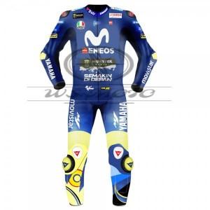 Valentino Rossi Movistar Yamaha Motogp Motorcycle Leather Suit 2018