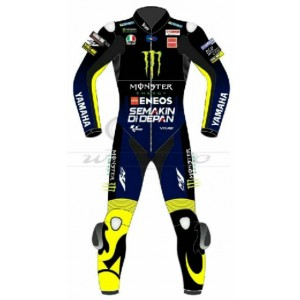 VALENTINO ROSSI YAMAHA ENERGY MOTOGP 2019 MOTORBIKE MOTORCYCLE LEATHER BIKE SUIT