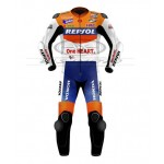 Andrea Dovizioso Repsol Honda Motogp Motorcycle Leather Suit 2010