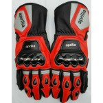 Aprilia RSV4 Racing leather Gloves Guantes de aprilia MotoGP Aprilia Gloves