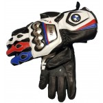 BMW Motorrad MotoGP Motorbike Motorcycle Leather Gloves All Sizes Available