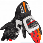 Marc Marquez Honda Repsol MotoGP Motorbike Leather Gloves All Sizes Available
