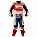 Marc Marquez Honda Repsol MotoGp 2019 Motorbike Racing Leather Suit All Sizes