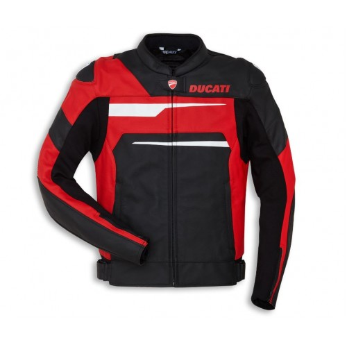 New Ducati Corse C1 Jacket Motorcycle Riding Jacket CE Leather jacket 2020