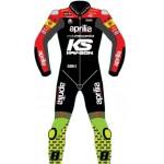 Aprilia Racing Rapidi Motogp Motorbike Leather Racing Suit 2019 Model All Size