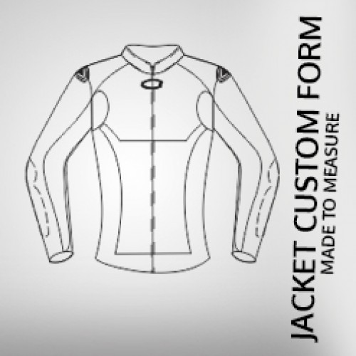 *CUSTOM BESPOKE MADE TO ORDER FASHION OR MOTORCYCLE BIKER LEATHER JACKET