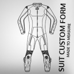 *CUSTOM BE-SPOKE DESIGN MADE TO ORDER MOTORCYCLE LEATHER SUIT