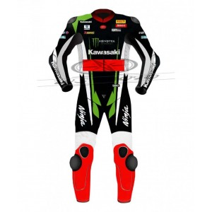 Custom made replica suit for Kawasaki Ninja Team Based on the suit of 2017