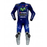 Maverick Vinales Yamaha Movistar Motogp Motorcycle Leather Suit 2017