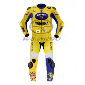 Valentino Rossi Yamaha Camel Motogp Motorcycle Leather Suit 2006